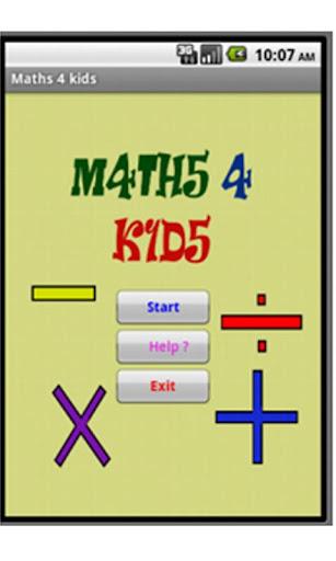 M4THS 4 K1DS
