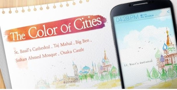 The Color of Cities Atom theme