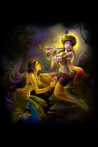 shree krishna wallpaper - screenshot