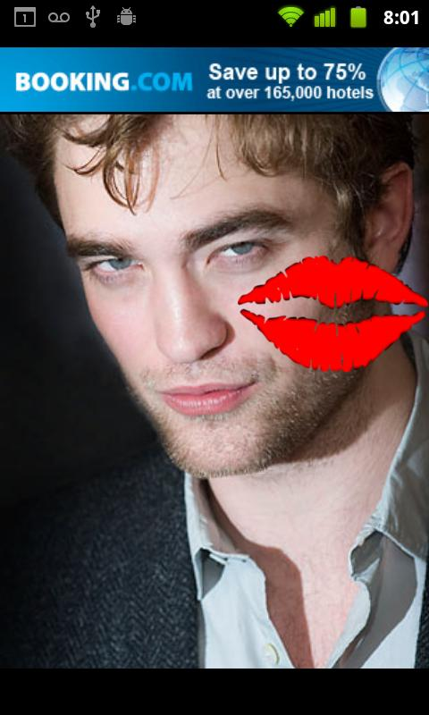Kiss Edward Cullen - screenshot
