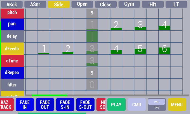 Cadeli drum machine free- screenshot
