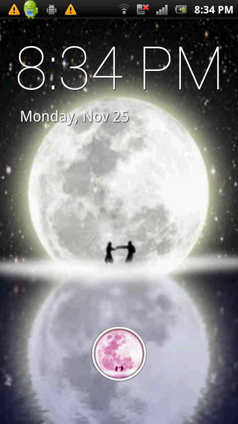 Moon Dance Live Wallpaper - screenshot