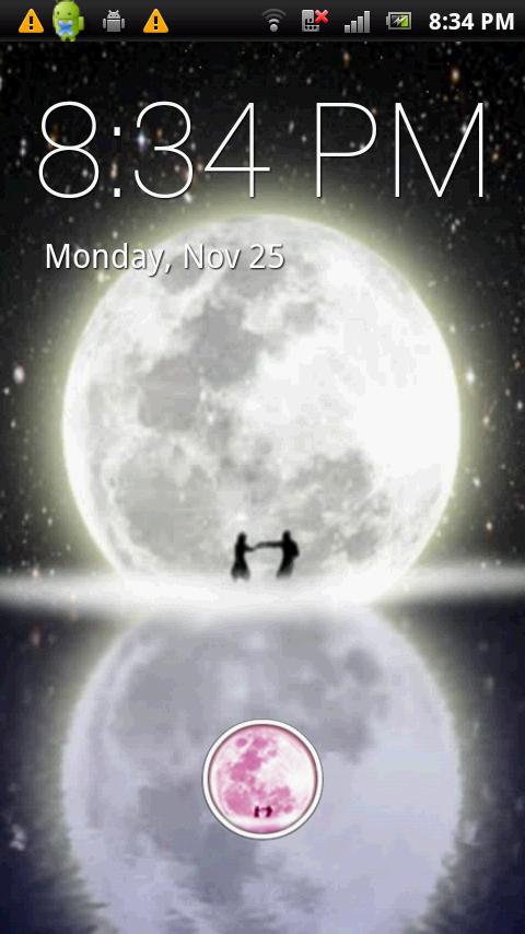 Moon Dance Live Wallpaper - screenshot
