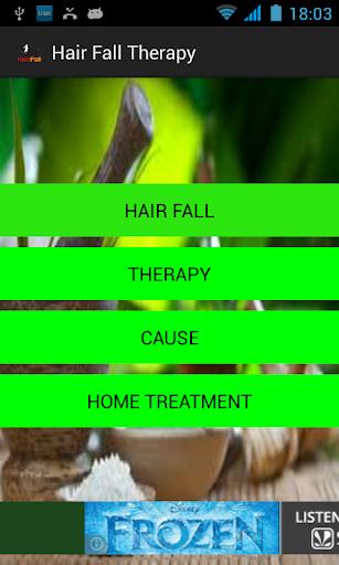 Hair fall thearpy