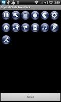 Screenshot of Crystal Circle Icon Pack
