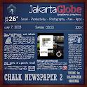 Chalk Newspaper 2 ssLauncher O icon
