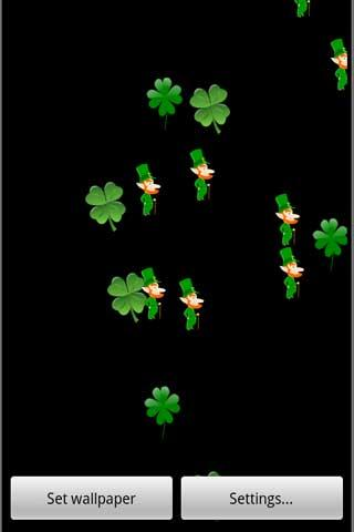 St Patricks Day Live Wallpaper - screenshot
