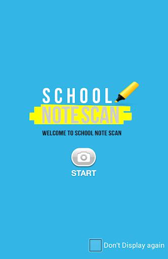School NoteScan - Scanner App