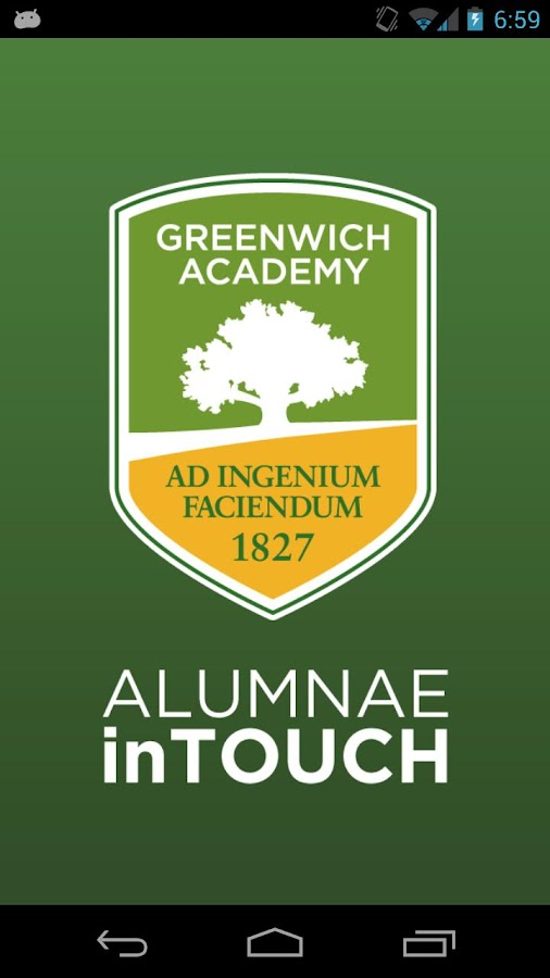 GA Alumnae inTouch - screenshot
