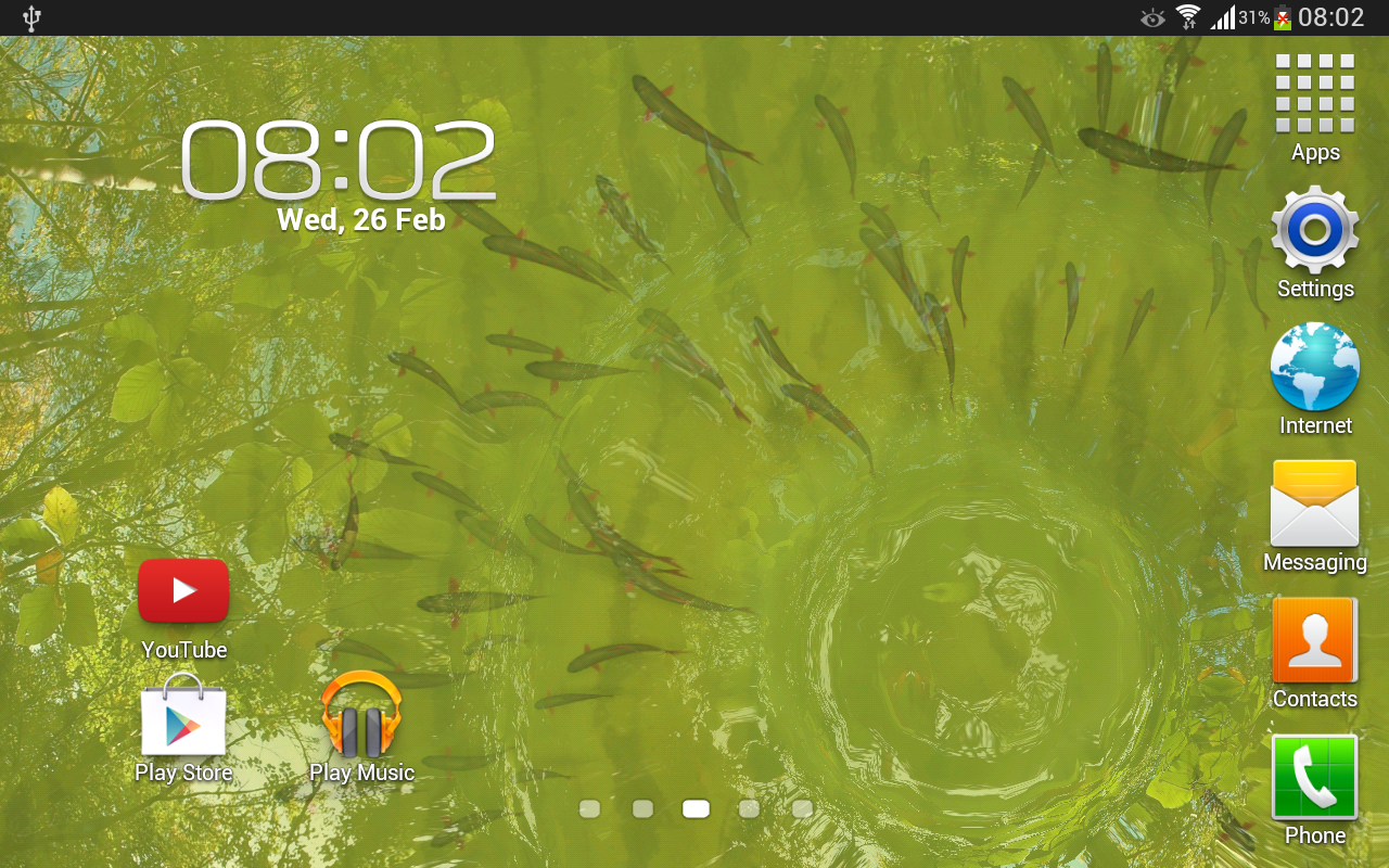 True Water Free Live Wallpaper- screenshot