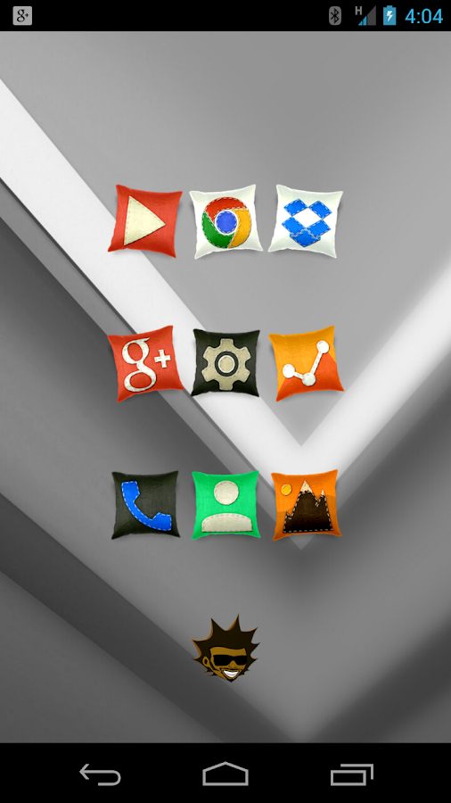 Tha Cushion - Icon Pack - screenshot