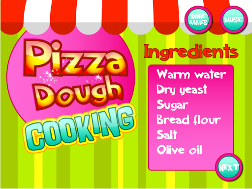 Pizza Dough Cooking