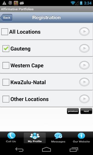 Affirmative Portfolios 1.2 screenshots 5