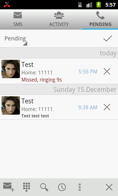 Smart Notify - SMS and calls - screenshot