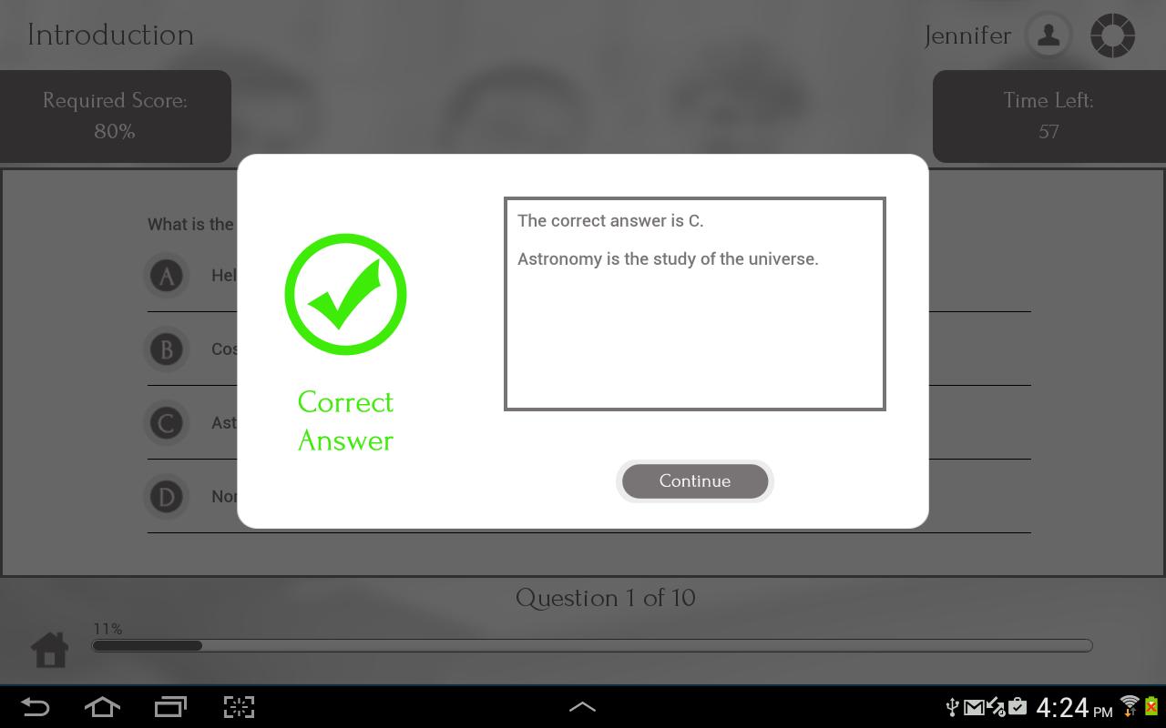 Learn Astronomy - screenshot