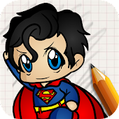 Draw Super Heroes