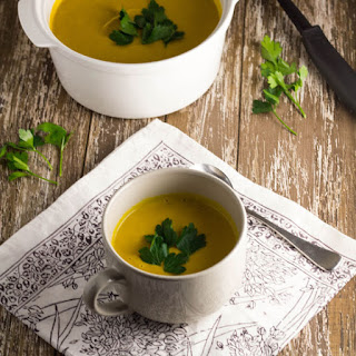Roast Pumpkin & Coconut Soup.