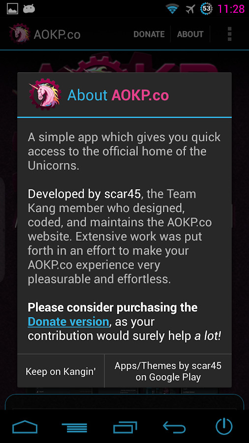 AOKP.co- screenshot