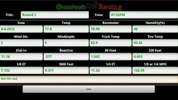 Screenshot of Grassroots Drag Racing