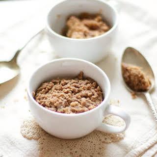 1-Minute Coffee Cake In A Mug.