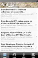 Screenshot of Vatican - News,Radio,US Bible
