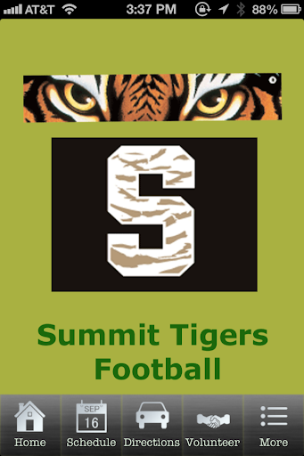 Summit Tigers Football