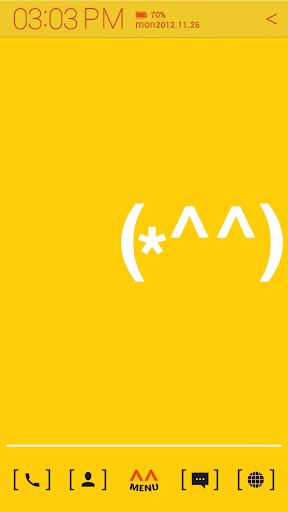 玩個人化App|Typo Happy Man atom theme免費|APP試玩