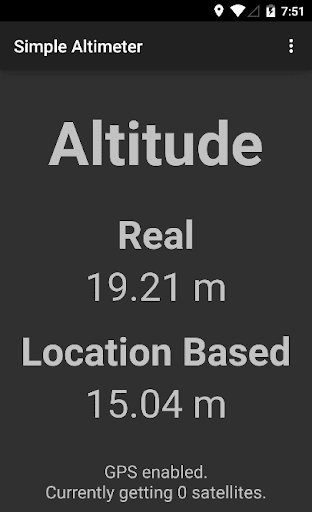 Simple Altimeter