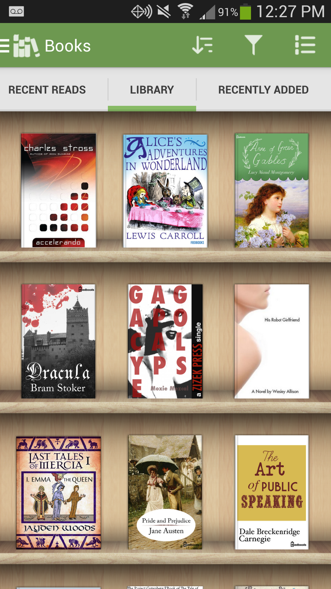 Aldiko Book Reader Premium screenshot #2