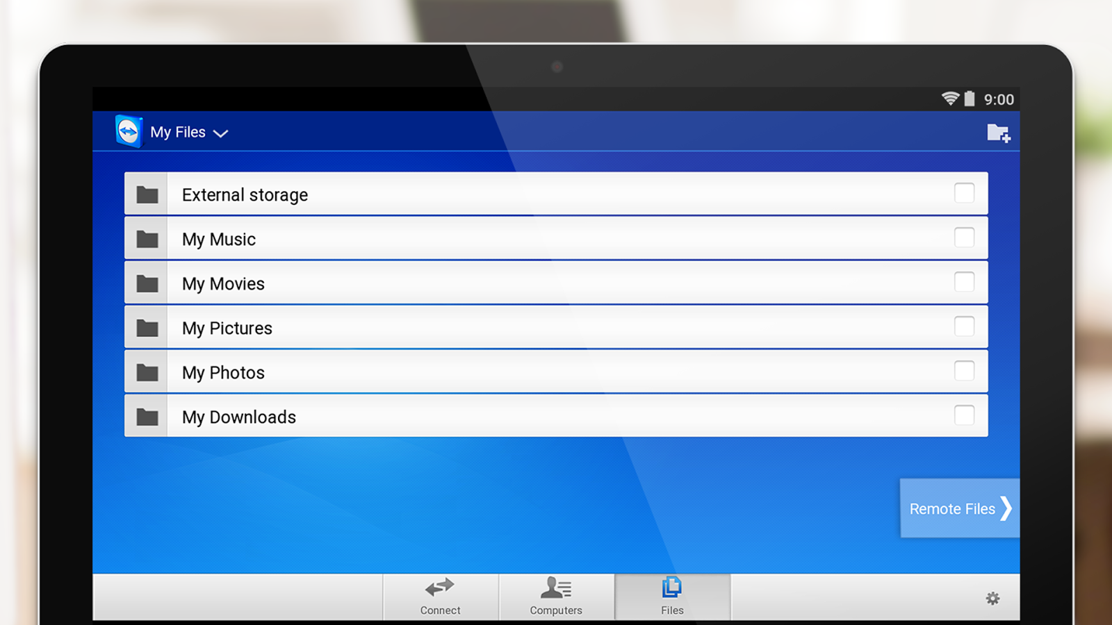 TeamViewer for Remote Control- screenshot