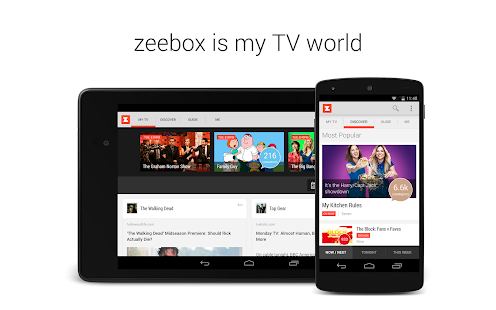 zeebox: My TV World - screenshot thumbnail