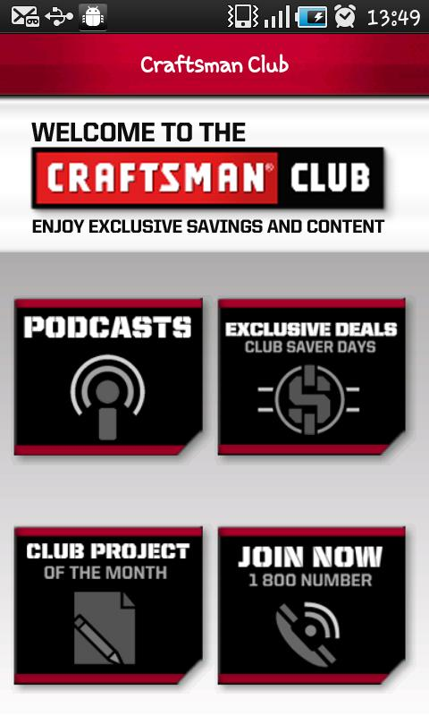 Craftsman Tools and DIY App - screenshot