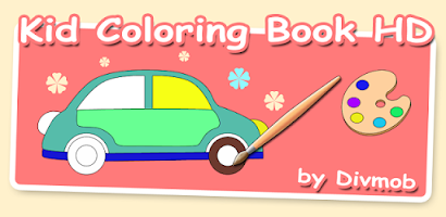 Kid Coloring Book HD