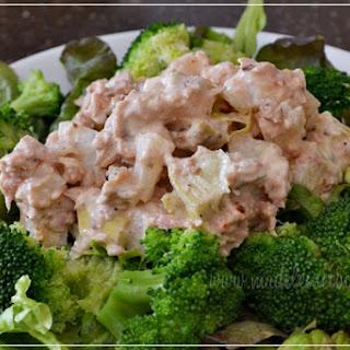 Artichoke and Jicama Tuna Salad.