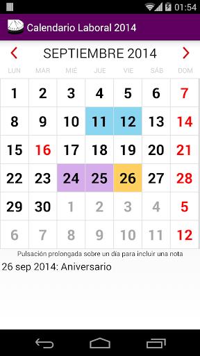 Calendario 2015 México AdFree