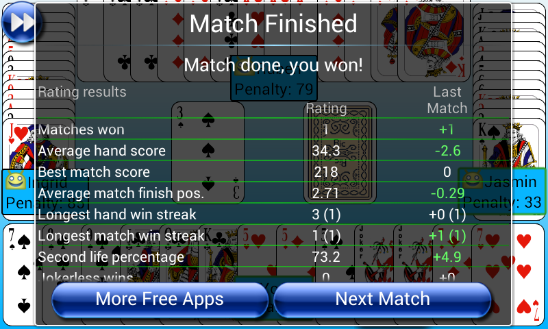 G4A: Indian Rummy- screenshot