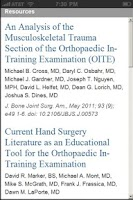 Screenshot of OITE Ortho Strategy