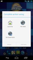Screenshot of TSF Launcher Patch
