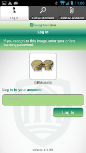 Georgetown Bank Mobile App - screenshot thumbnail