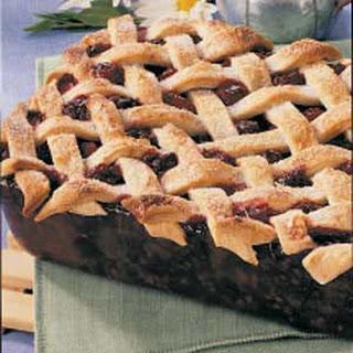 Deep-Dish Blackberry Pie