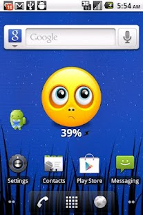 Smiley Battery Widget AD FREE