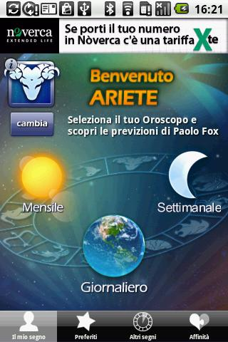 Astri di Paolo Fox - screenshot
