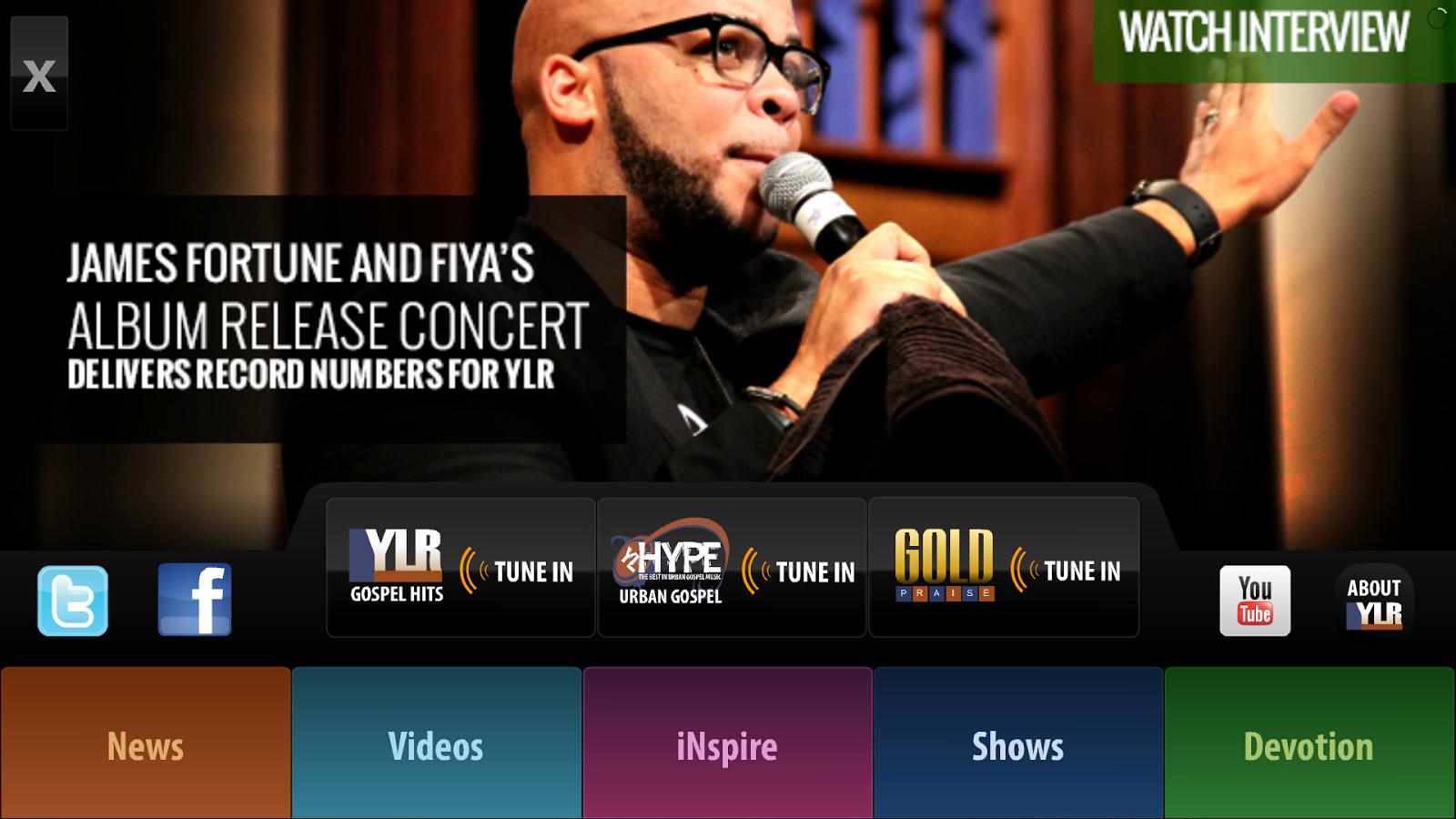 Yes Lord Radio - screenshot
