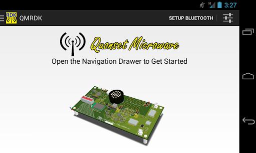 Quonset Microwave Radar App