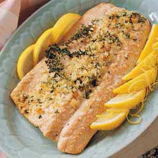 Lemon Herbed Salmon.
