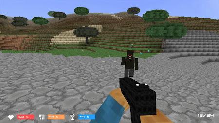 Cube Gun 3D : Zombie Island 1.0 screenshot 44152