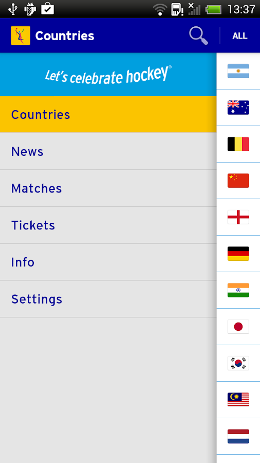 Rabobank Hockey World Cup 2014 - screenshot