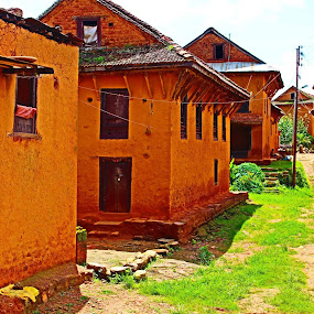 traditional houses by Raj Tandukar - Buildings & Architecture Public & Historical