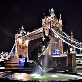 Tower Bridge by Matt Hulland - Buildings & Architecture Public & Historical ( tower, uk, thames, london, bridge )