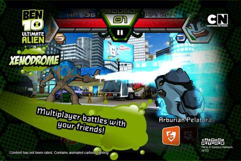 Ben 10 Xenodrome - screenshot